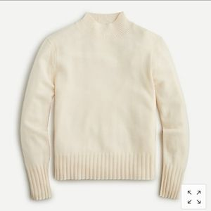 J. Crew Mockneck Cashmere Sweater